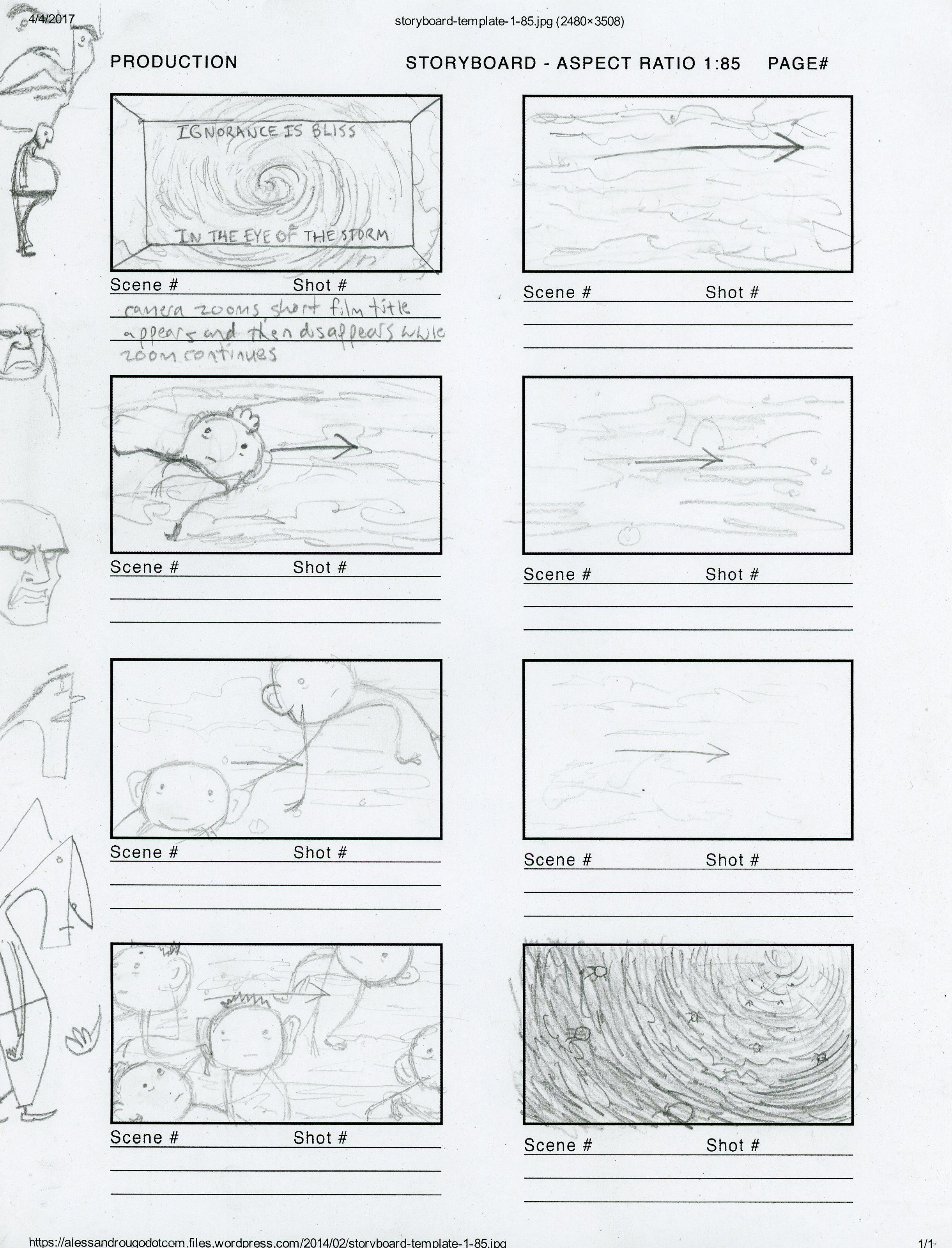 Script Storyboard   Animation Story Progress Script Storyboard Character Design
