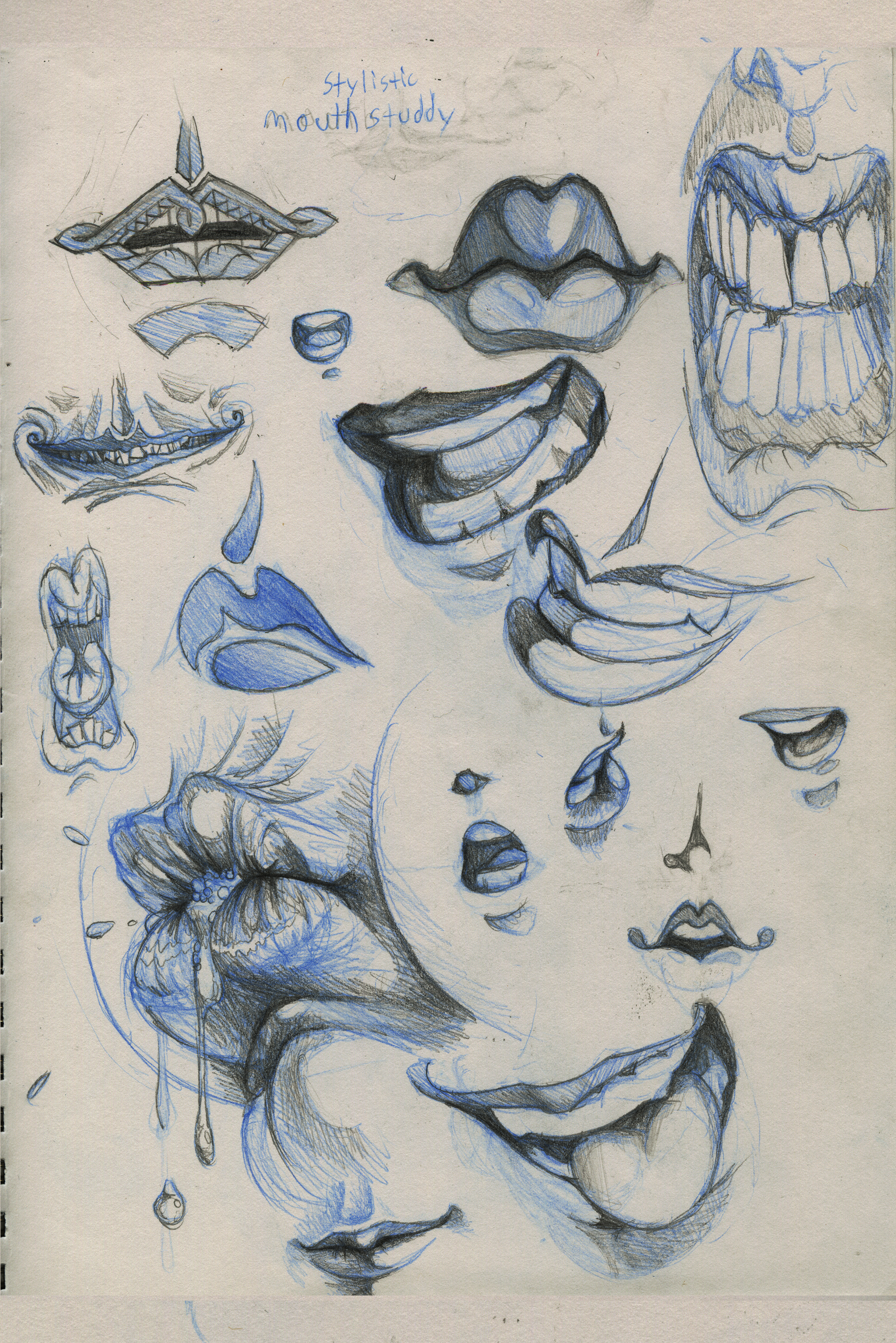 16bb6589b Scott's Character Design Blog » style-mouths