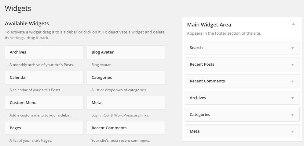 WidgetPage