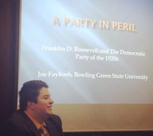 Faykosh Presenting at UNC Charlotte Conference