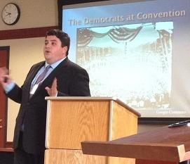 Joe Faykosh at NIU History Conference