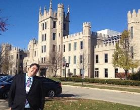 Joe Faykosh at the NIU History Conference