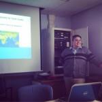 Faykosh leading the Teaching Forum