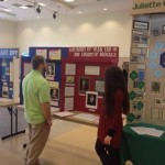 Michael Ginnetti judging History Day exhibits