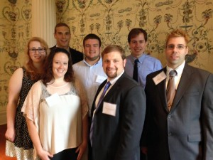 Masters Students at the Dean Hopper Conference in Drew University