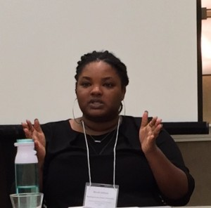 Dr. Nicole Jackson at the Midwest Conference on British Studies