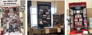 Some of the many projects presented at Ohio History Day 2017