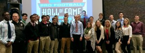 BGSU Students at the Pro Football Hall of Fame