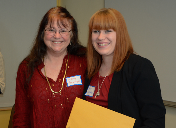 Holly Shively won the Gerald D. Murray and Bev Murray Scholarships.