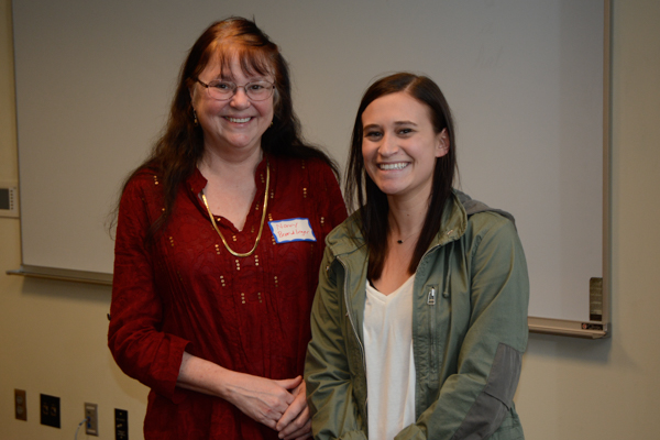 Leslie Hurrell received the Robert F. Collins Scholarship.