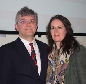 Jeffrey Bradford and Norah Lawlor