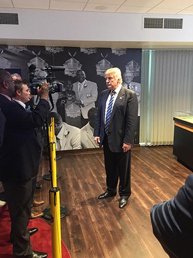 Jason Rentner interviws Donald Trump