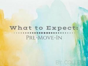 pre-movein