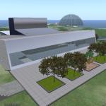 BGSU Wolfe Center (front view)
