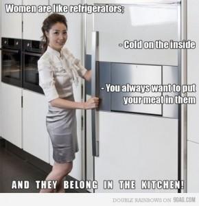 Women Belong In Kitchens