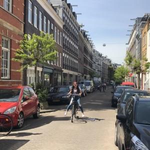Bike ride in the city!